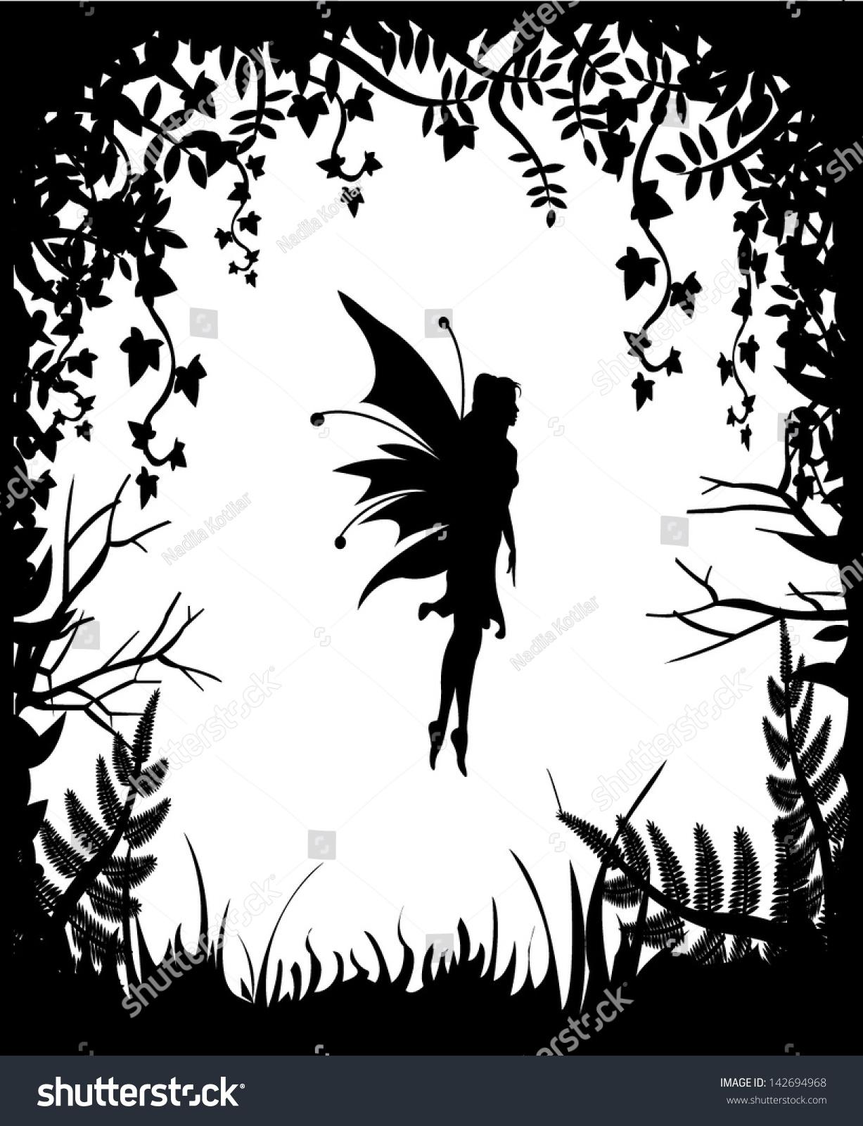 simple fairy outline ilgroup