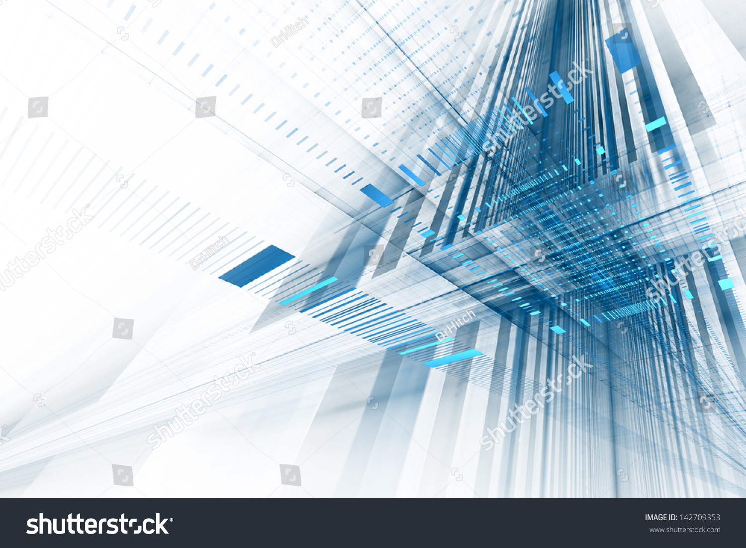 Technology Abstract Background Stock Illustration: Abstract Business Science Technology Background Stock