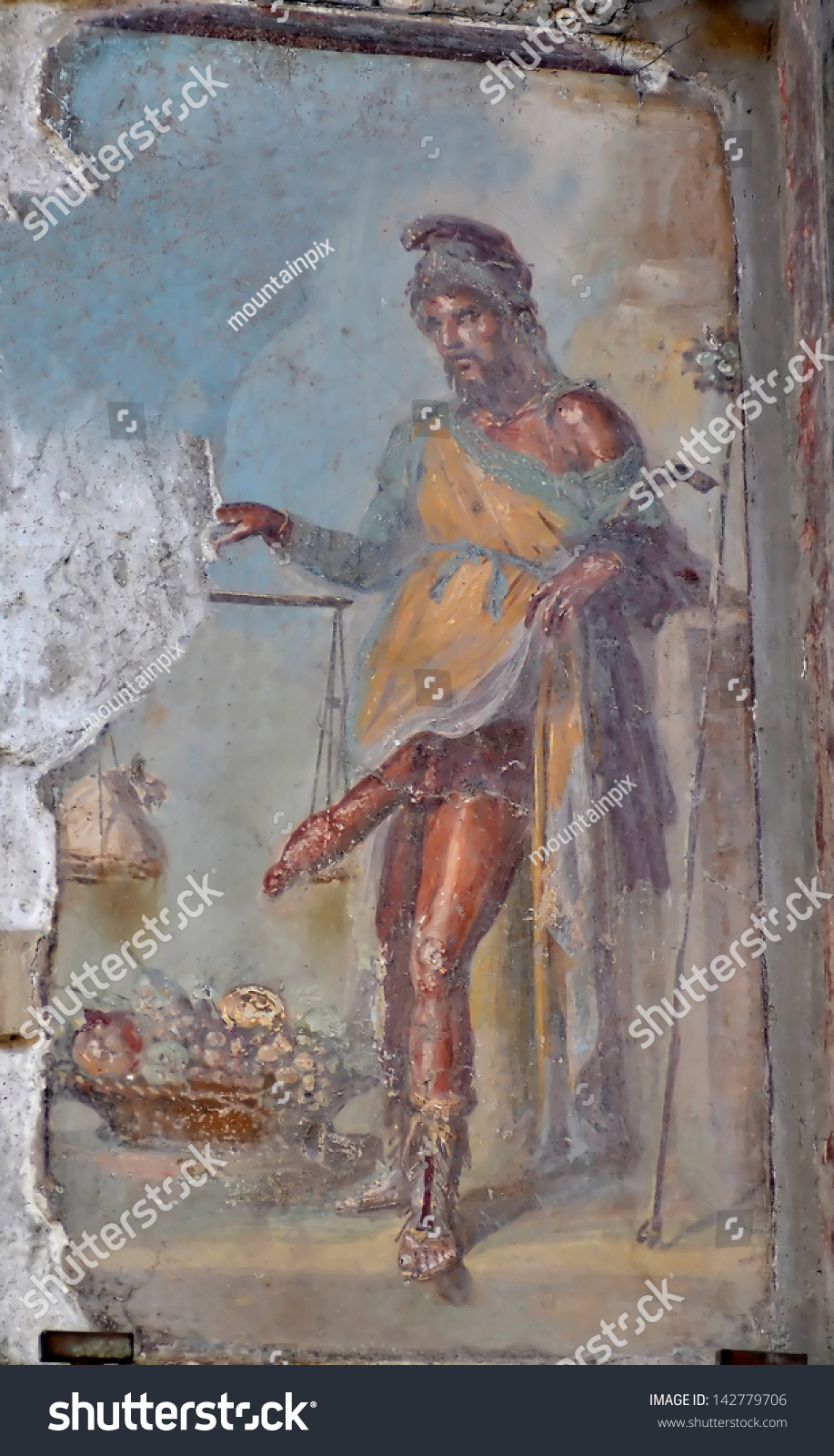 Famous Roman Fresco Paintings