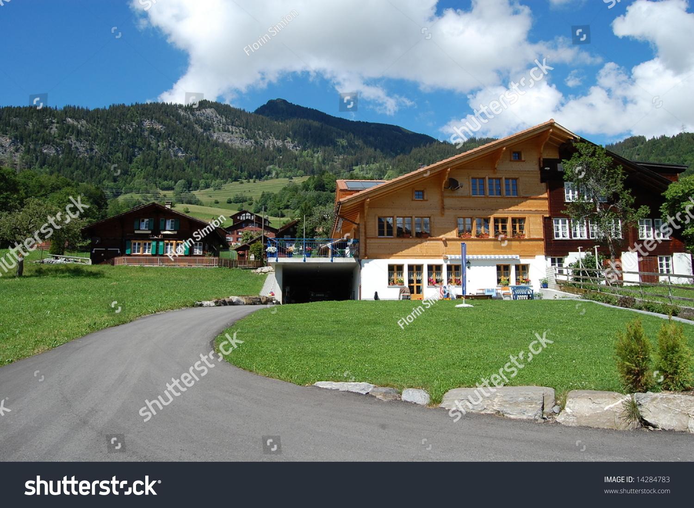 Swiss Mountain House swiss mountain house stock photo 14284783 - shutterstock