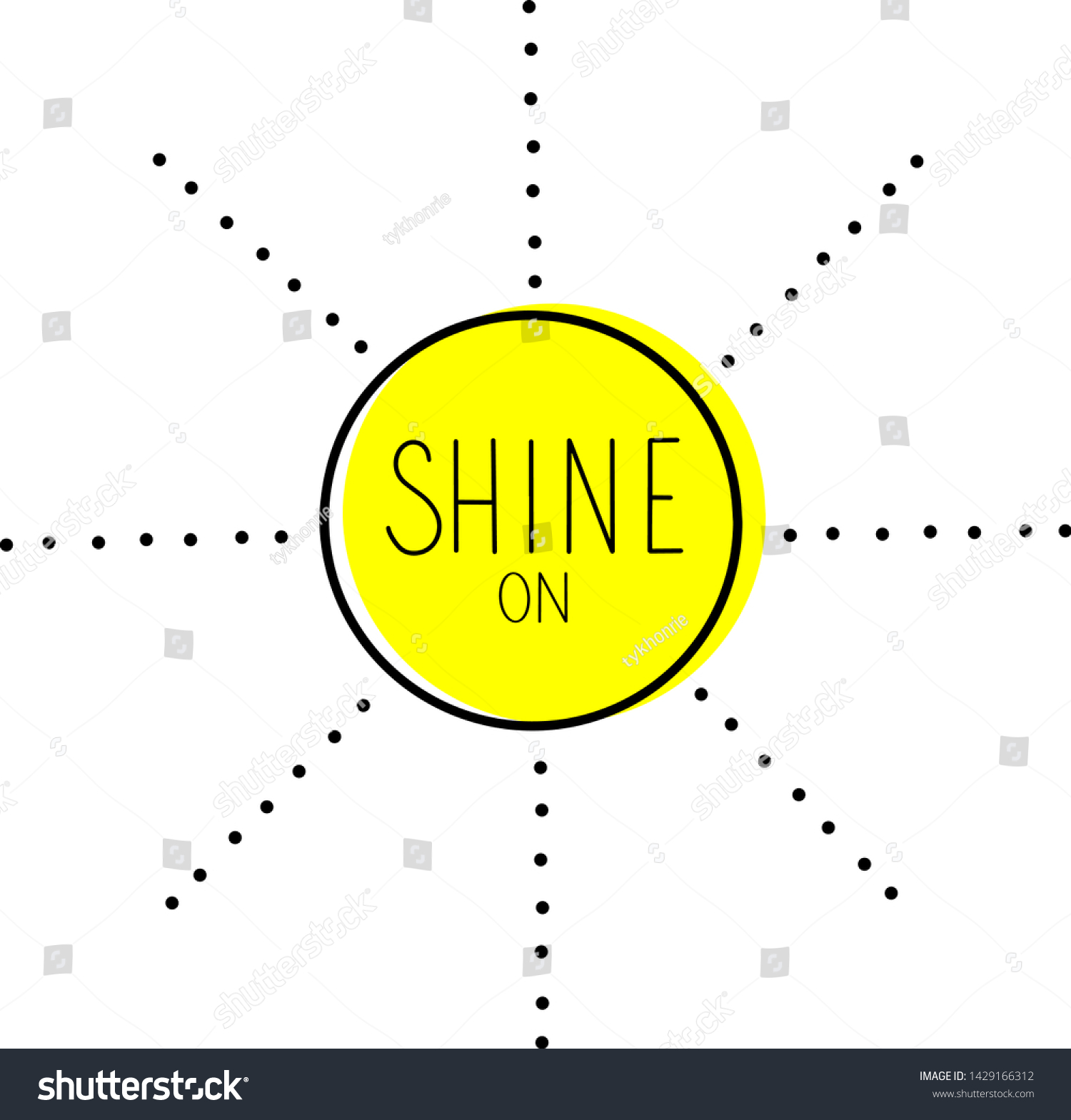 stock-vector-shine-on-word-lettering-sun
