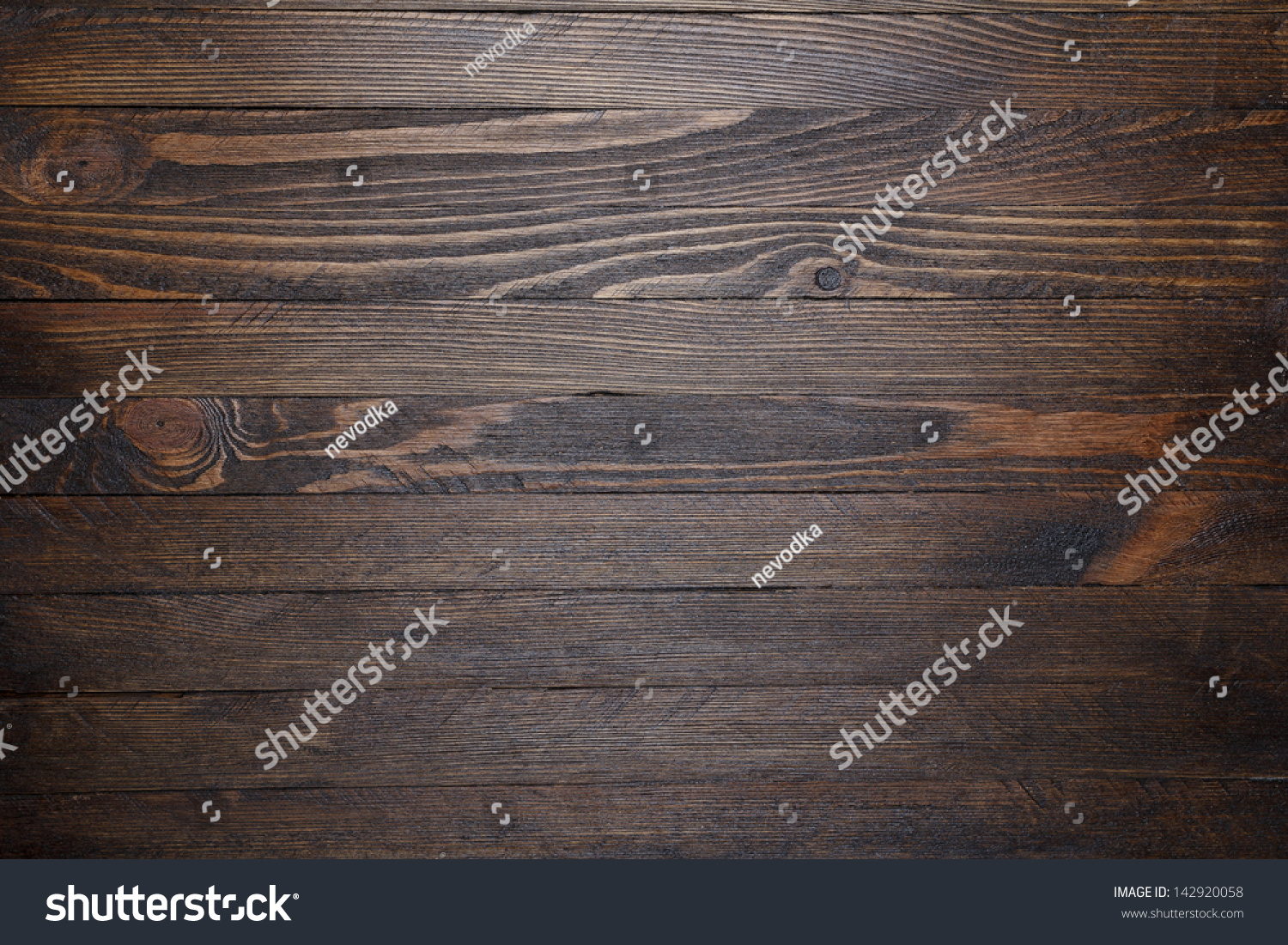 Wooden table background top view stock photo