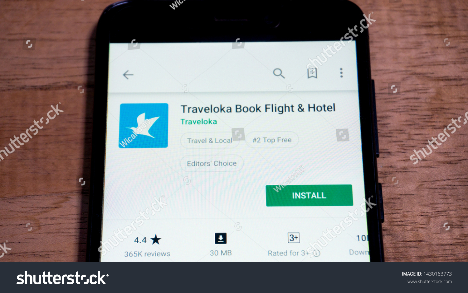 Magelang Central Java Indonesia May 31 2019 Traveloka Book Flight And Hotel App In Play Store