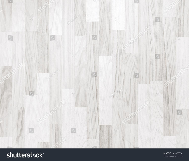 White Wooden Parquet Flooring Texture Horizontal Seamless Background 143076838