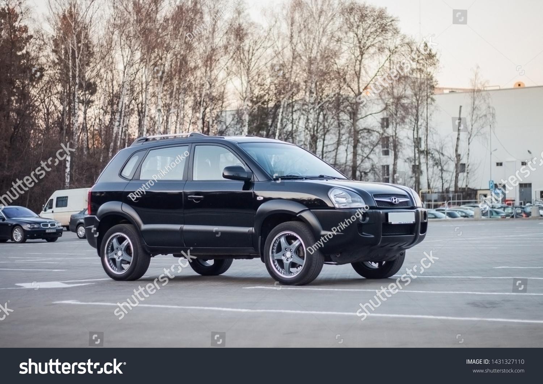 Chernigov Ukraine 03042019 Tuned Hyundai Tucson Stock Photo Edit Now 1431327110