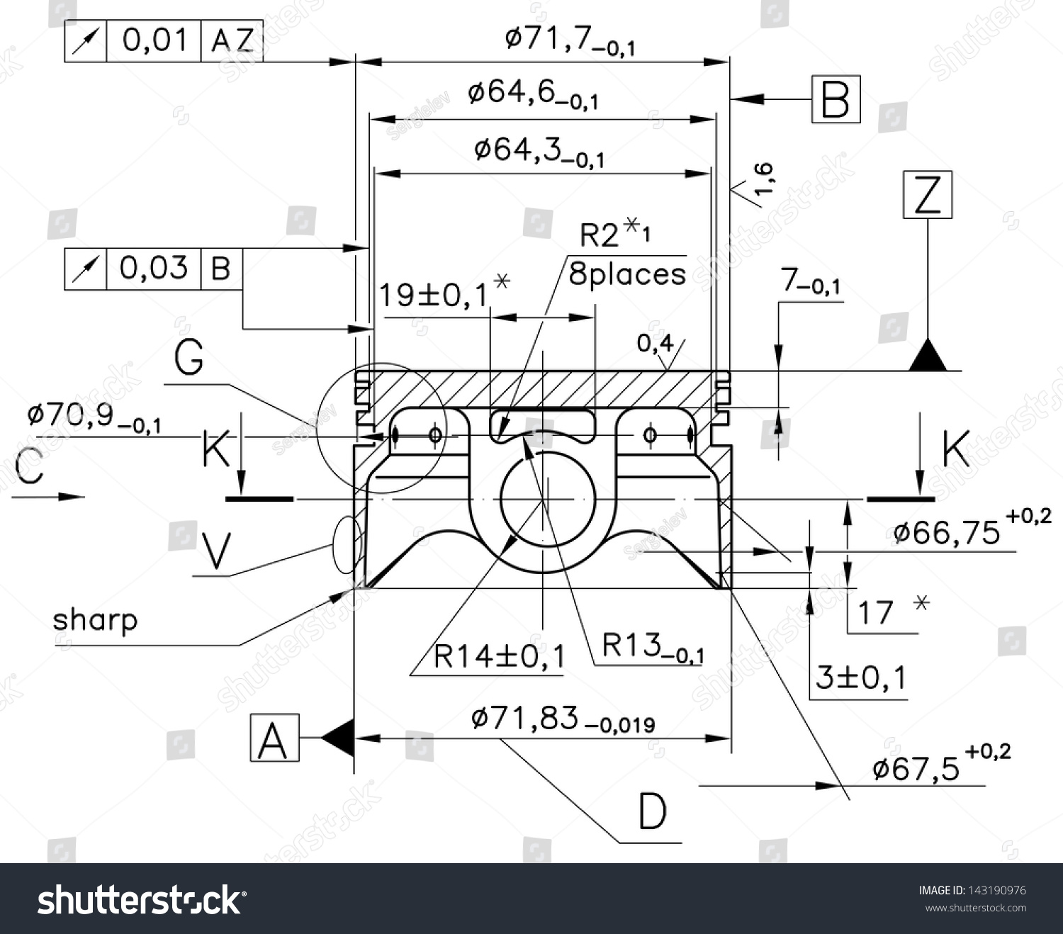 Engine Piston Diagram Illustration Guide And Troubleshooting Of Car Design Technical Drawings Nonexistent Internal Combustion Stock Rh Shutterstock Com How An Works