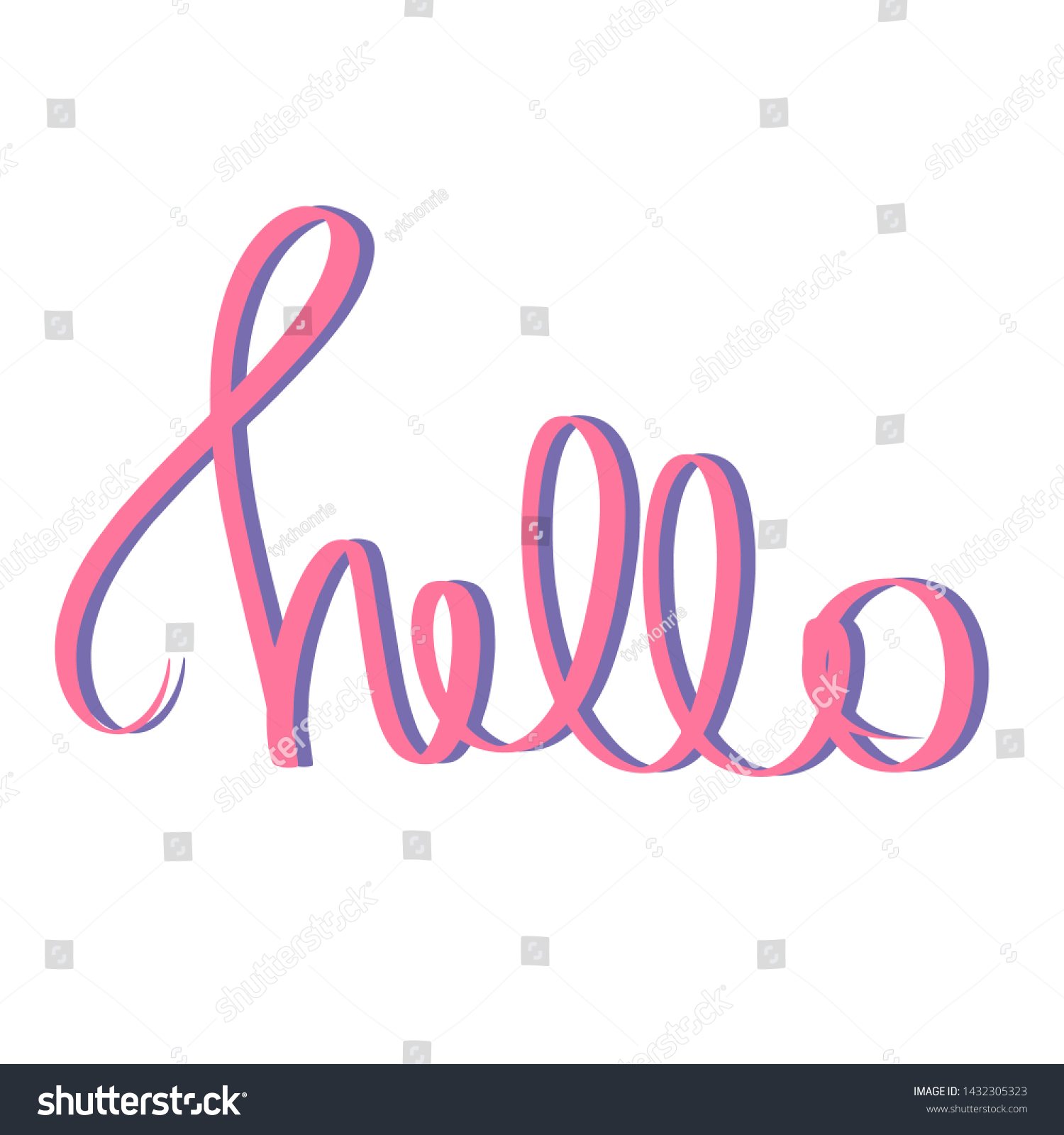 stock-photo-hello-pink-violet-brush-hand