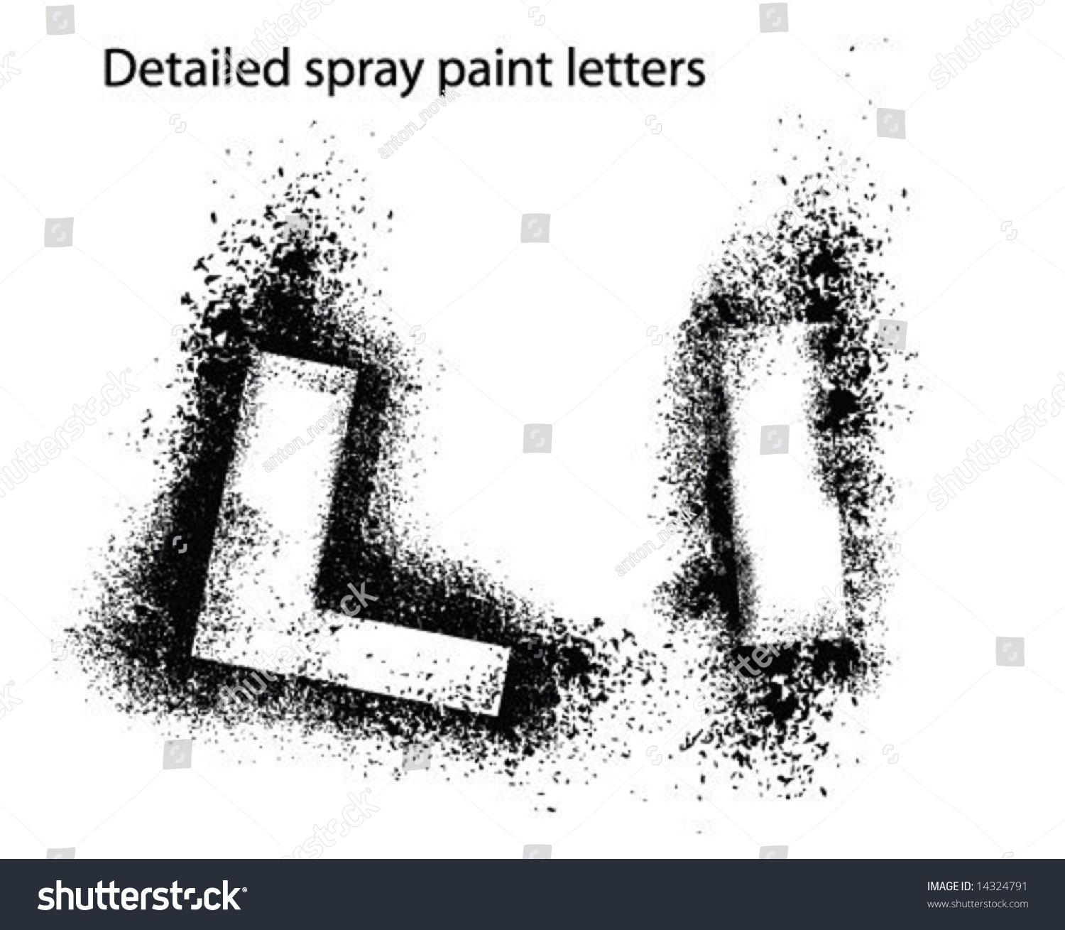 spray paint font stencil letters in spray paint stock photos images