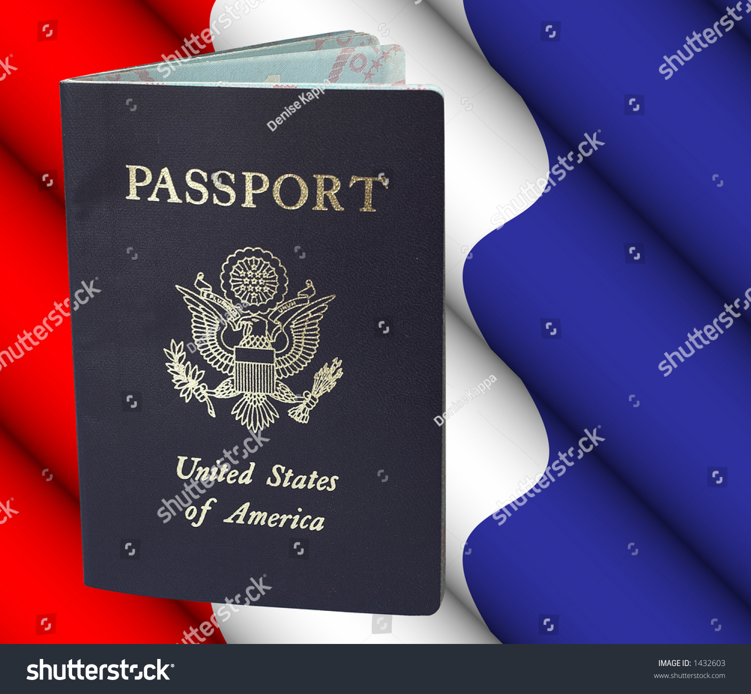 American Passport With Clipping Path - Remove Passport ...