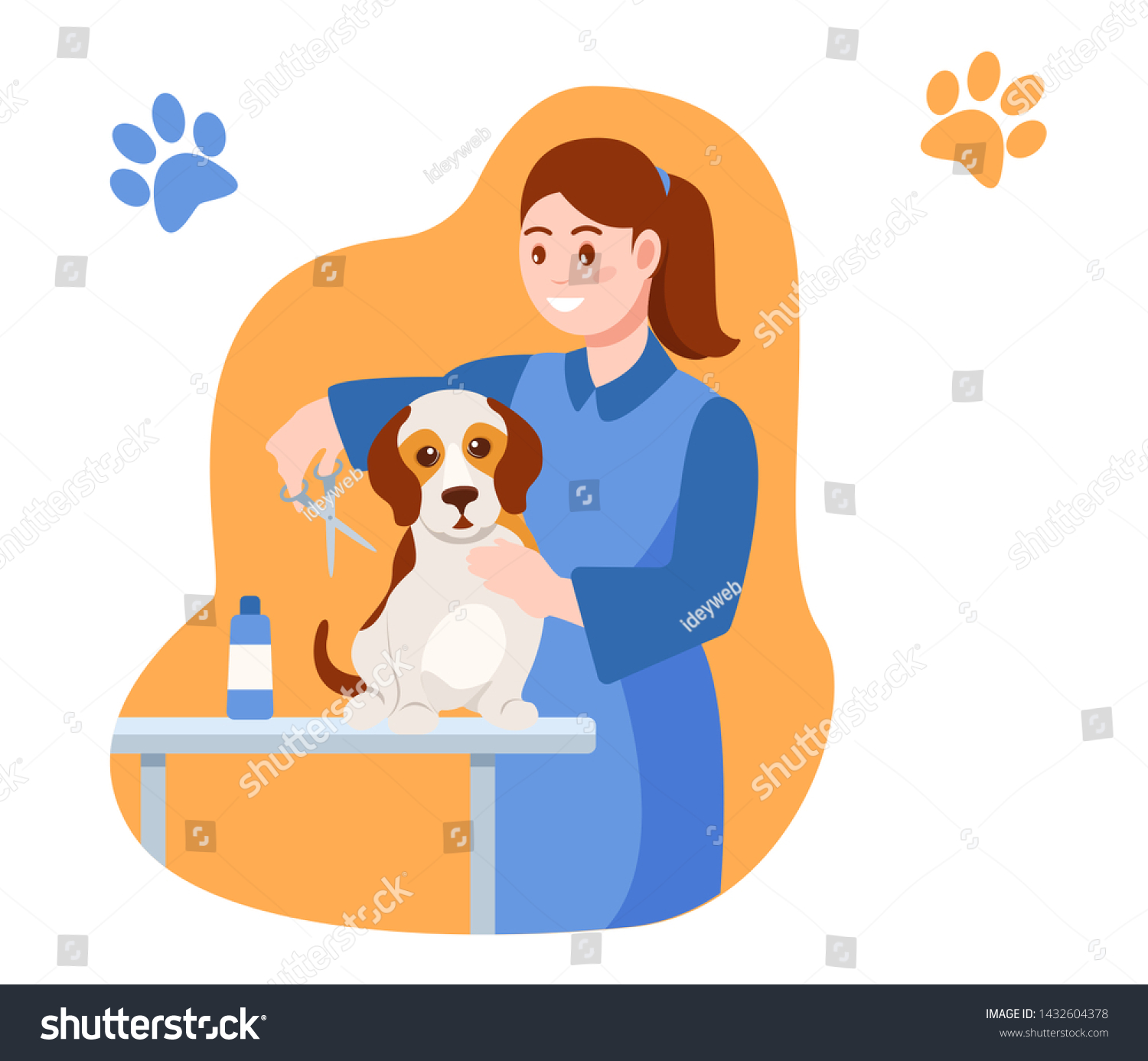 Taking Care Of Animals Clipart - Horse And Girl Clipart - Free Transparent  PNG Clipart Images Download