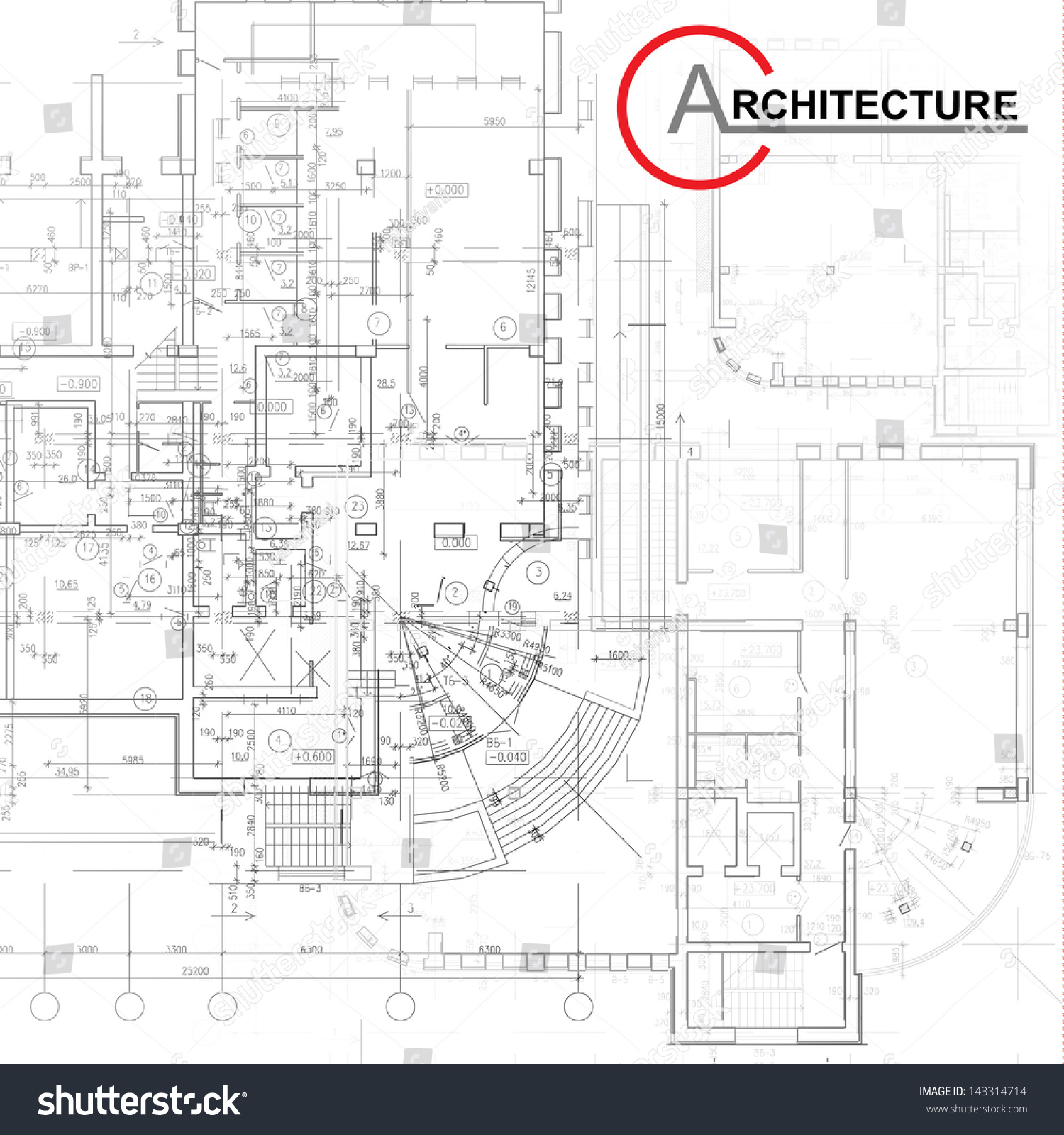 Template architectural design elements your business stock for Architectural design elements