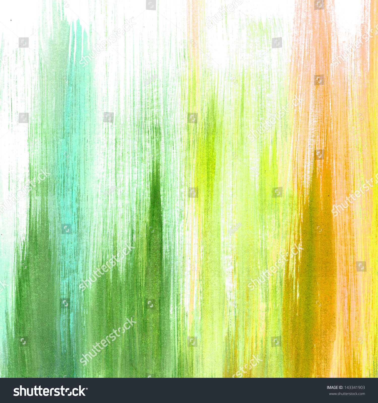 Abstract white background green yellow orange stock for Background painting ideas