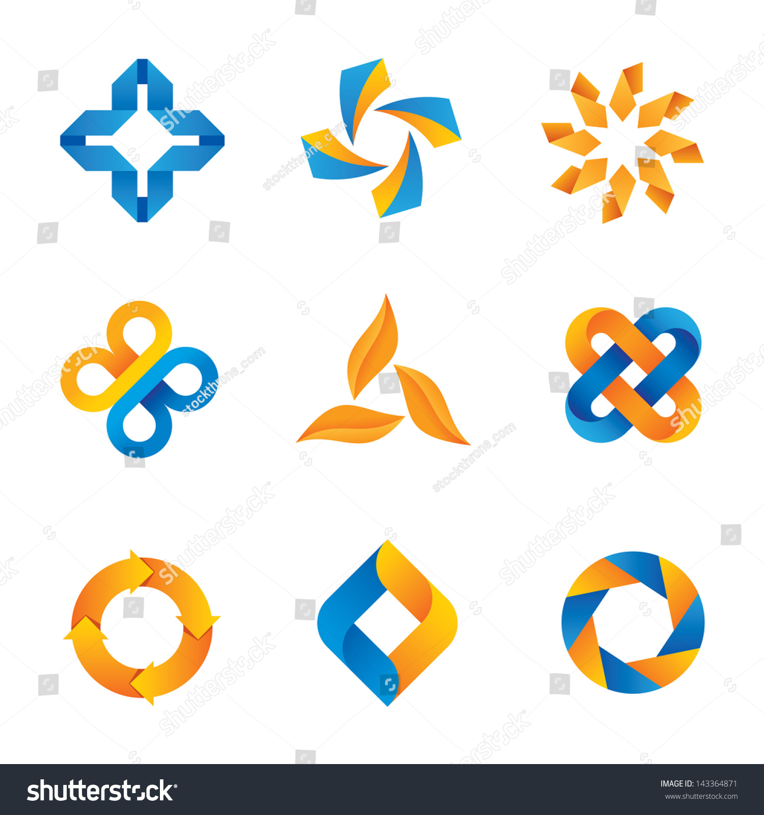 Social cool loop logo symbols icons stock vector 143364871 social cool loop logo symbols and icons biocorpaavc Image collections