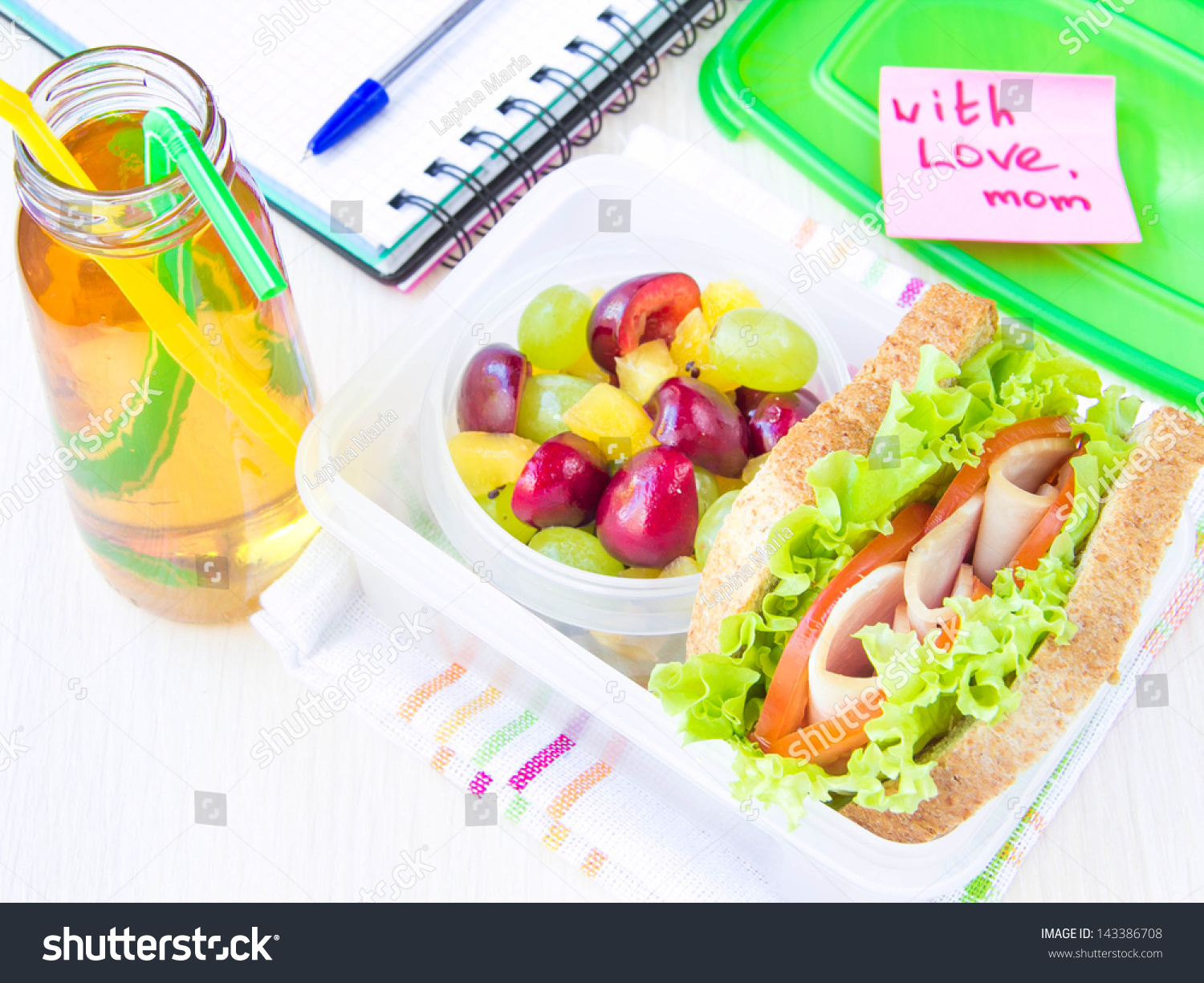 bento lunch your child school box stock photo 143386708 shutterstock. Black Bedroom Furniture Sets. Home Design Ideas
