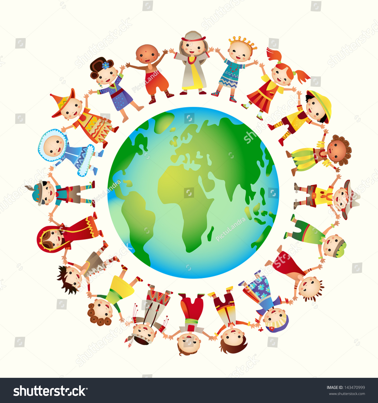 Multicultural Children On Planet Earth, Cultural Diversity ...
