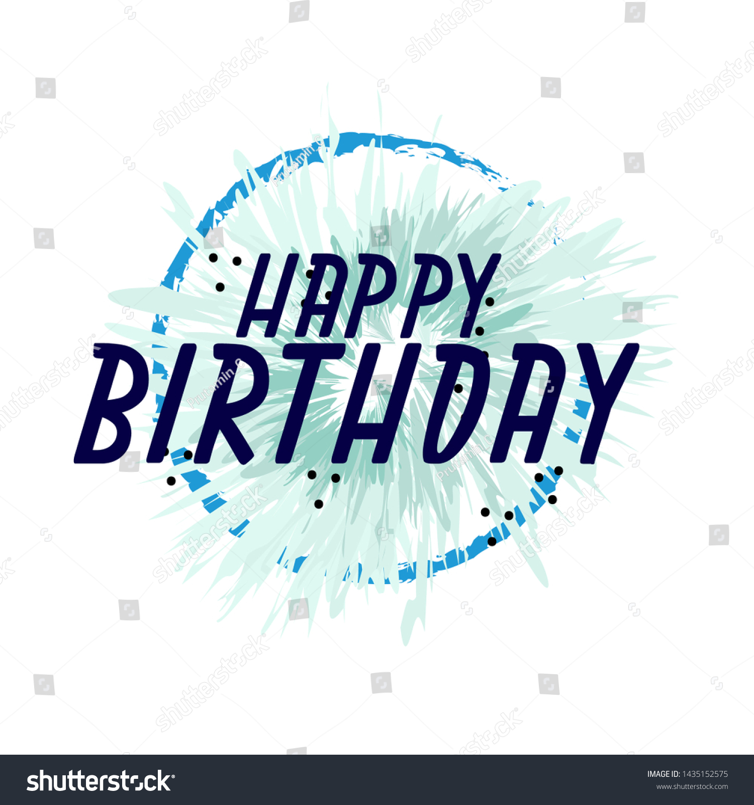 Outstanding Happy Birthday Beautiful Greeting Card Background Stock Vector Birthday Cards Printable Benkemecafe Filternl
