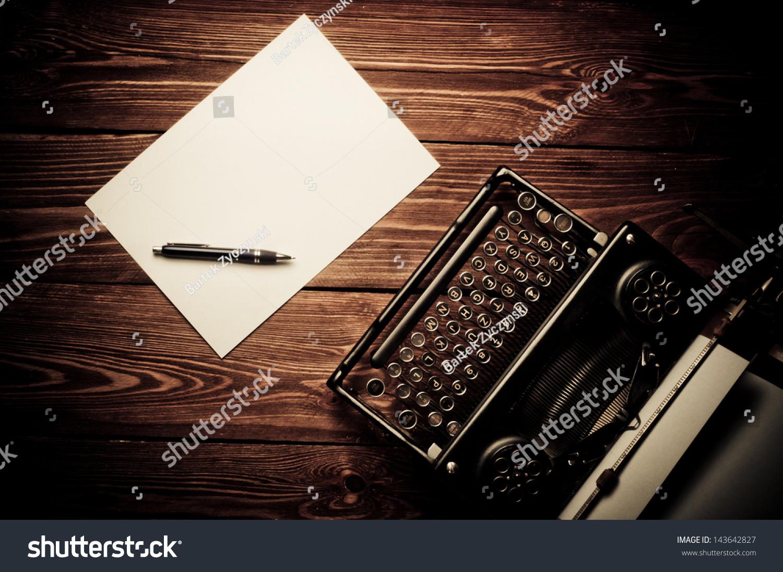 Vintage Typewriter Pap... Vintage Typewriter Paper Photography