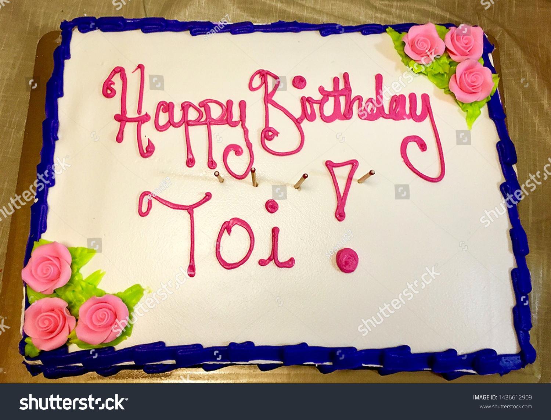 Enjoyable Large Sheet Birthday Cake Stock Photo Edit Now 1436612909 Personalised Birthday Cards Cominlily Jamesorg