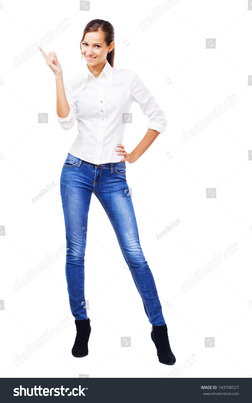 Shirt And Jeans For Women