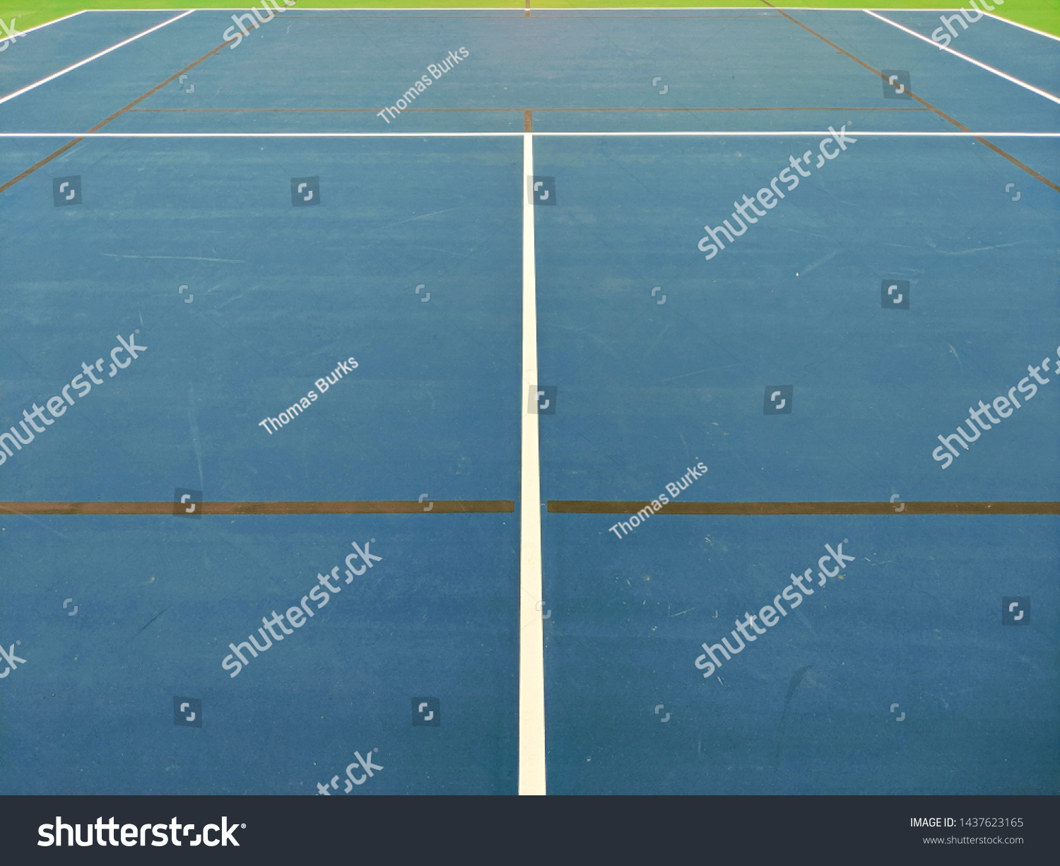 Tennis Court Aesthetic Background Color Pattern Stock Photo Edit Now 1437623165