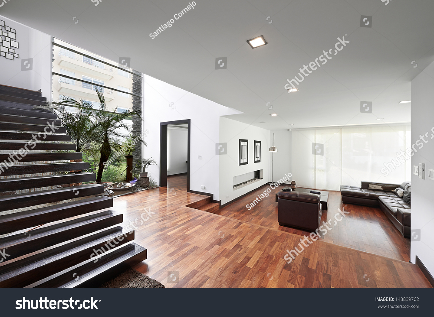 living room with a beautiful interior | EZ Canvas
