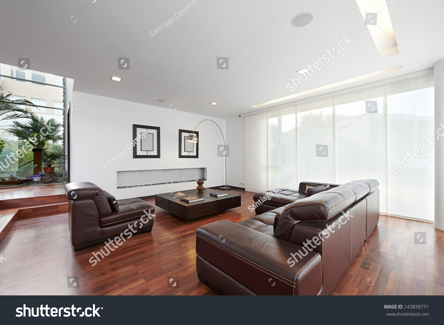 Bright space - an interior of an elegant living room | EZ Canvas
