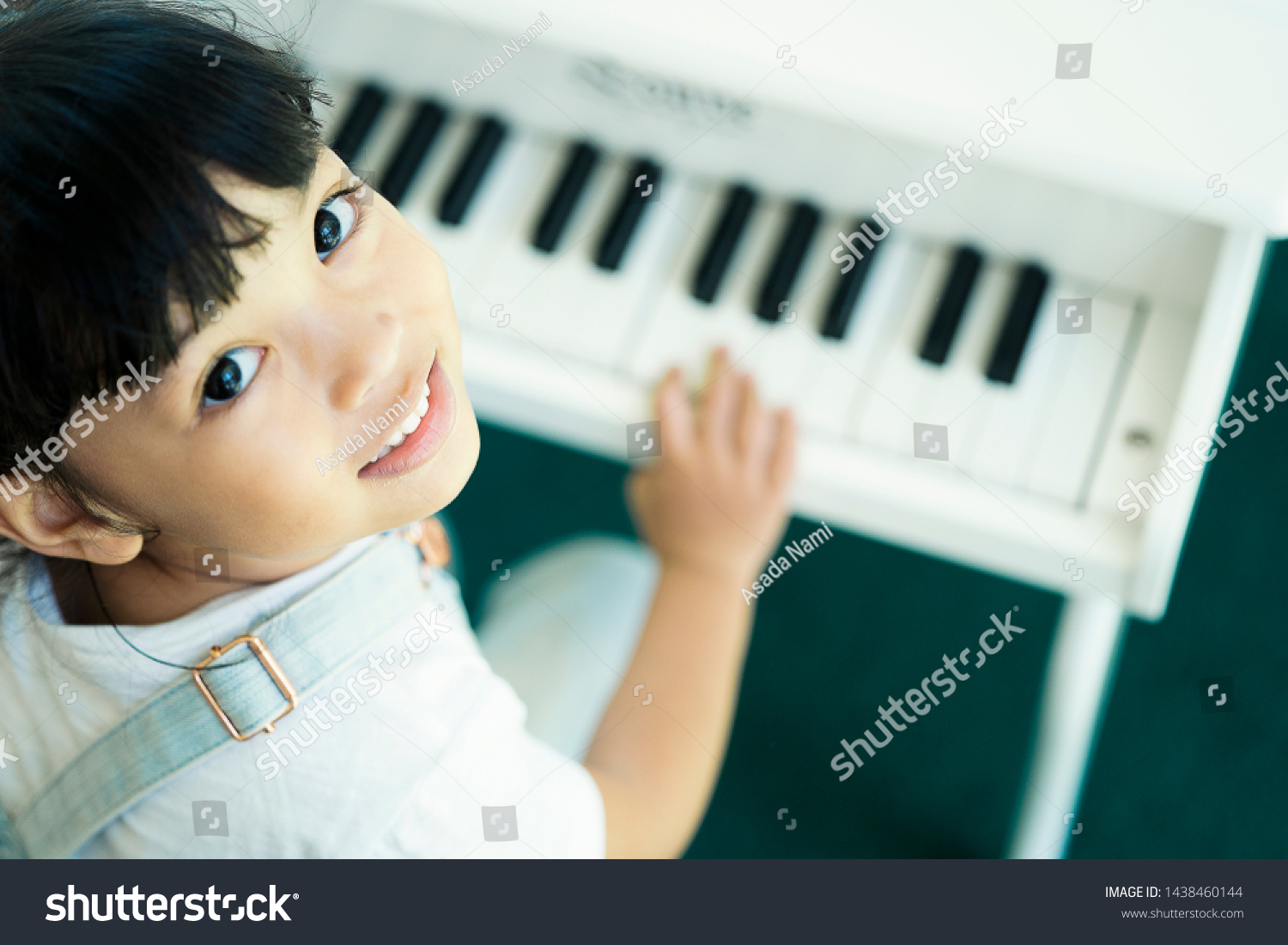 Music Lover Concept Kid Learning Play Stock Photo Edit Now