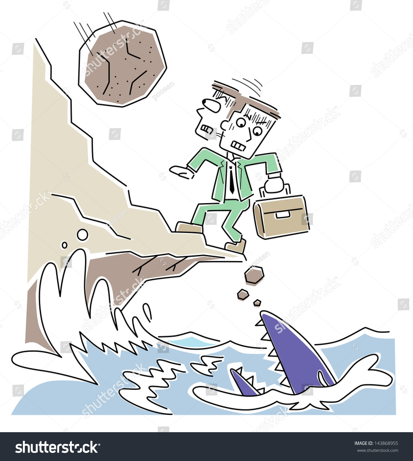 Businessmen Desperate Situation Stock Illustration 143868955 If you are desperate , you are in such a bad situation that you are willing to try. https www shutterstock com image illustration businessmen desperate situation 143868955