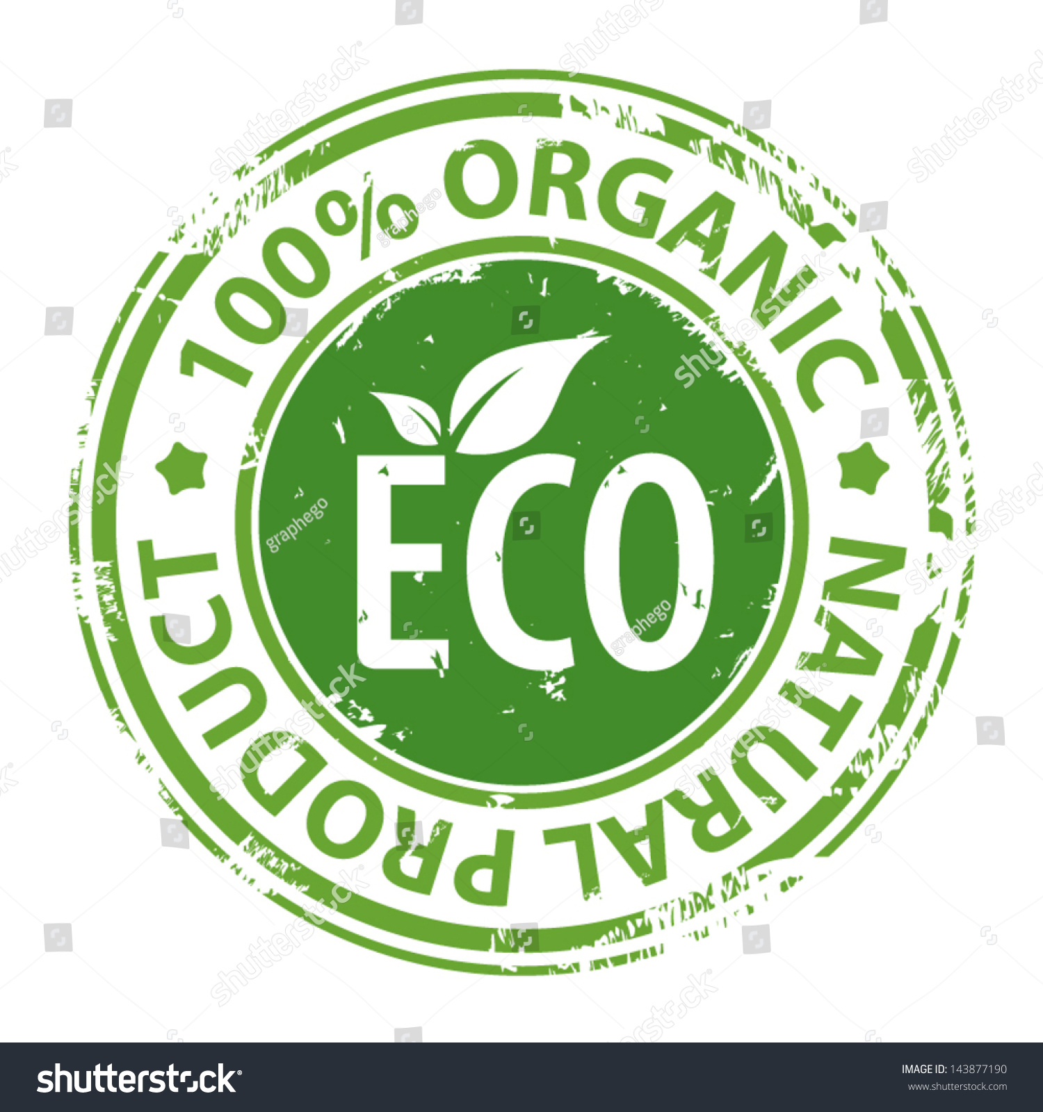Green rubber stamp text 100 organic stock vector 143877190 green rubber stamp with text 100 organic natural product and eco symbol isolated on white buycottarizona Image collections