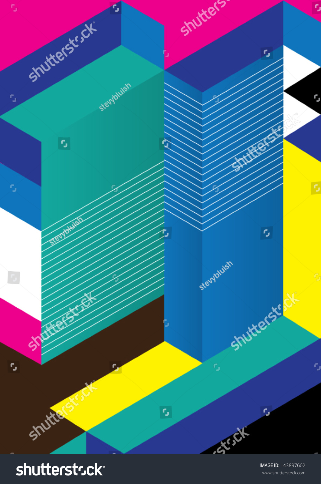 Vector Graphics Book Cover : Abstract geometric background vector illustration book