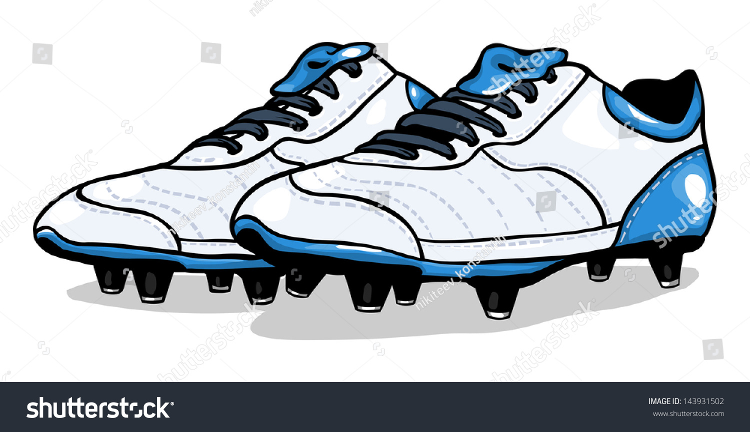 football shoes clipart - photo #11