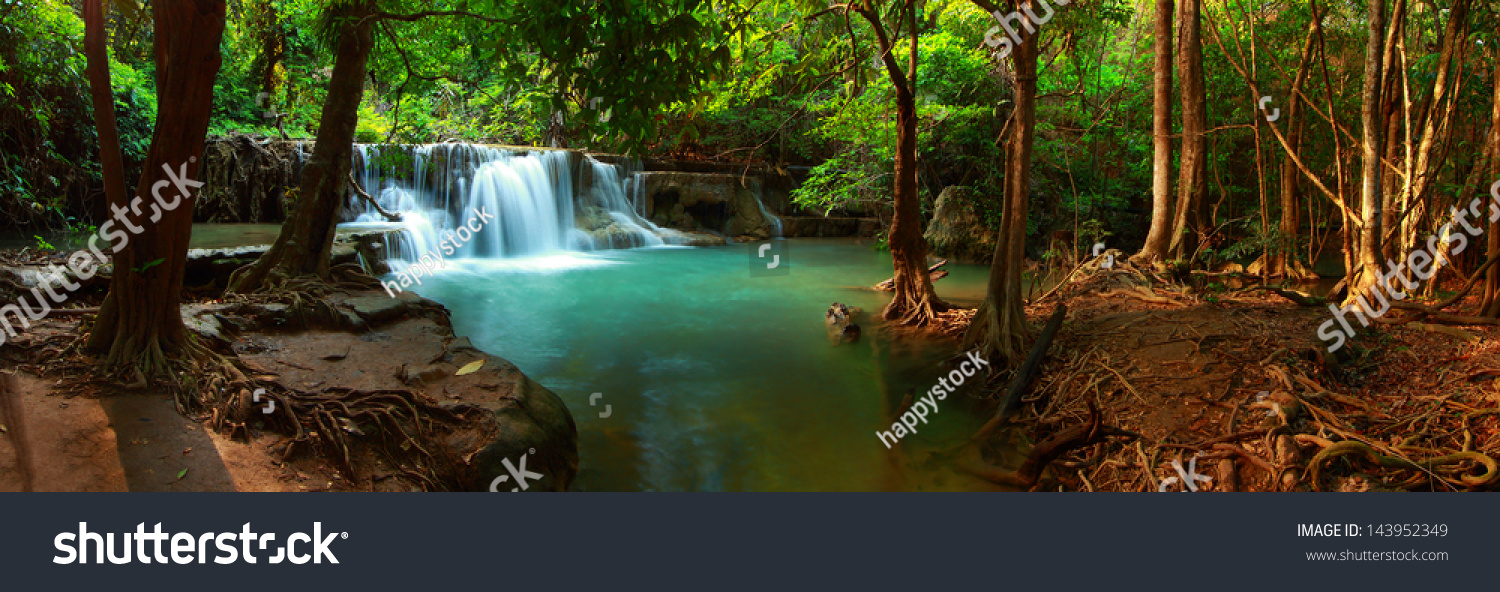 huay mae kamin waterfall in kanchanaburi thailand. Black Bedroom Furniture Sets. Home Design Ideas
