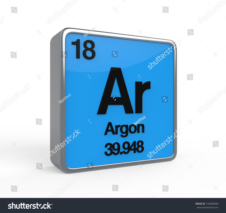 Argon element periodic table stock illustration 144009568 argon element periodic table gamestrikefo Choice Image