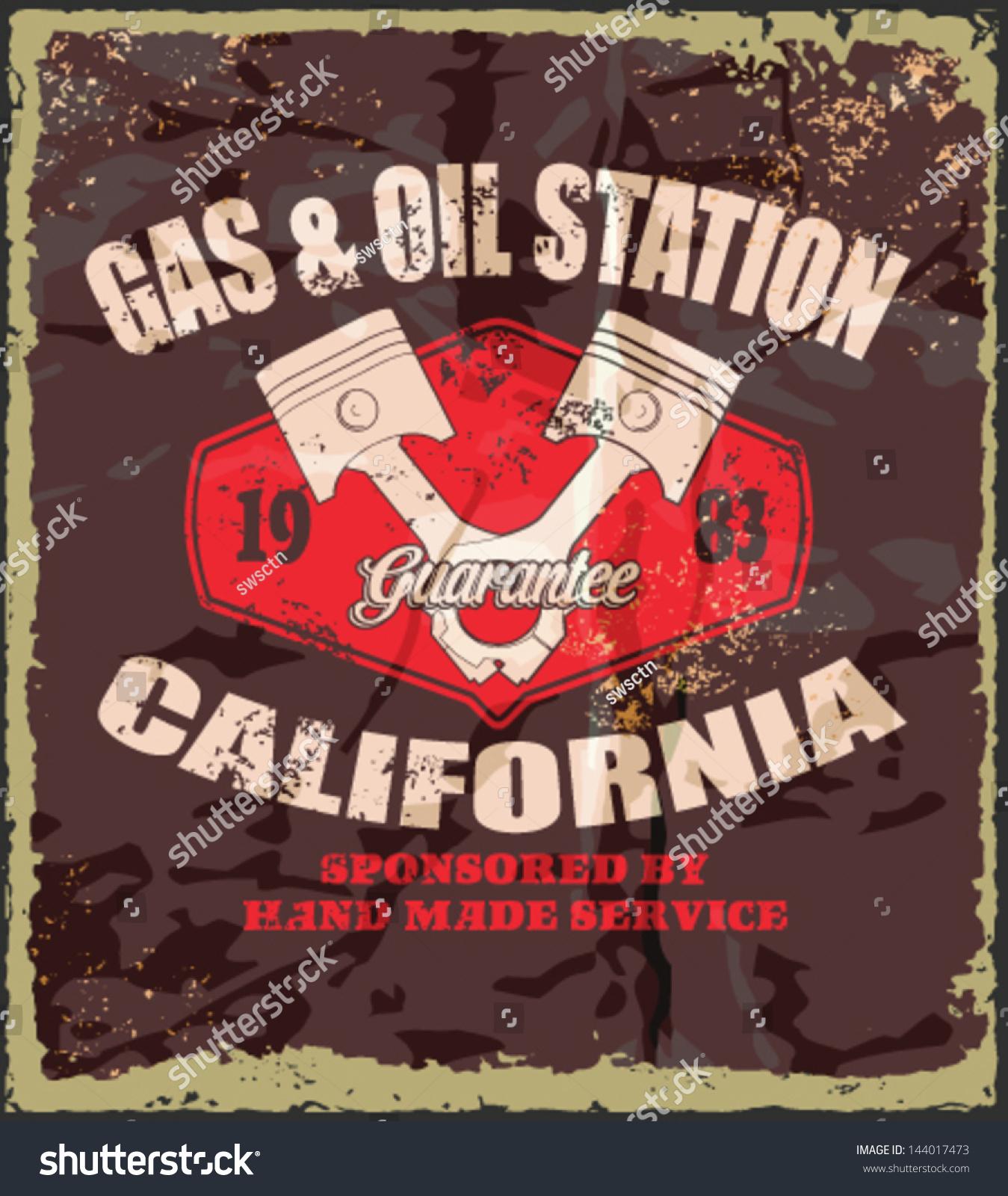 Vintage Gas Oil 89