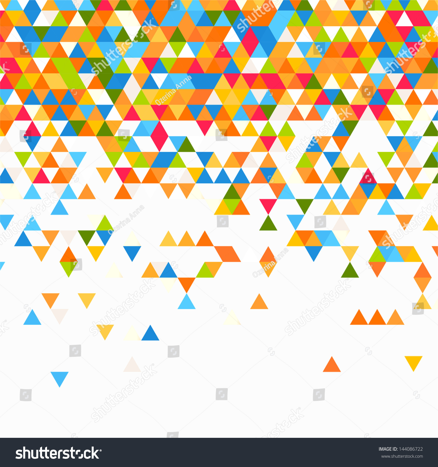 Abstract Geometric Background Stock Vector 144086722