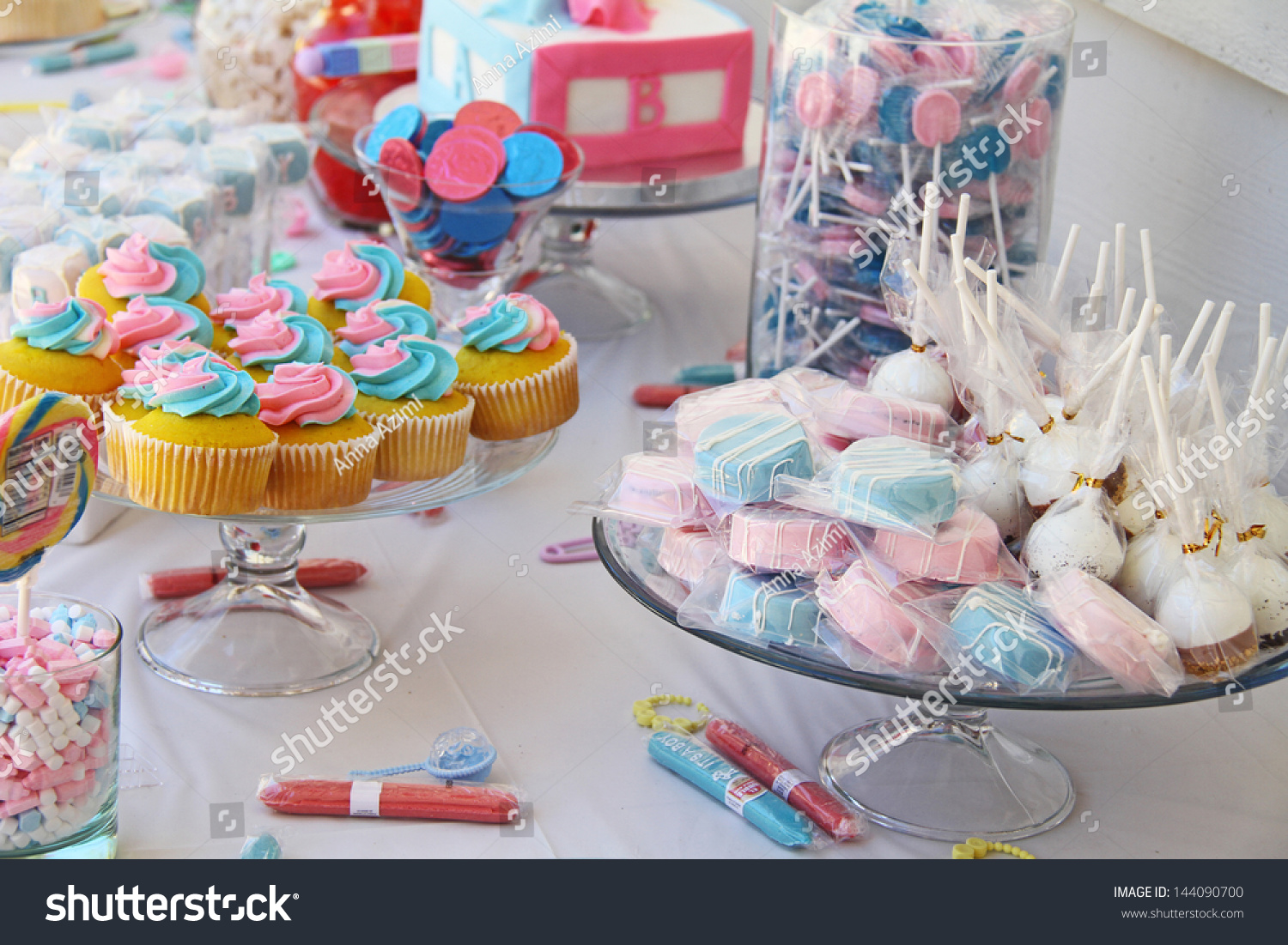 Baby Shower And Sweets On The Table Ez Canvas