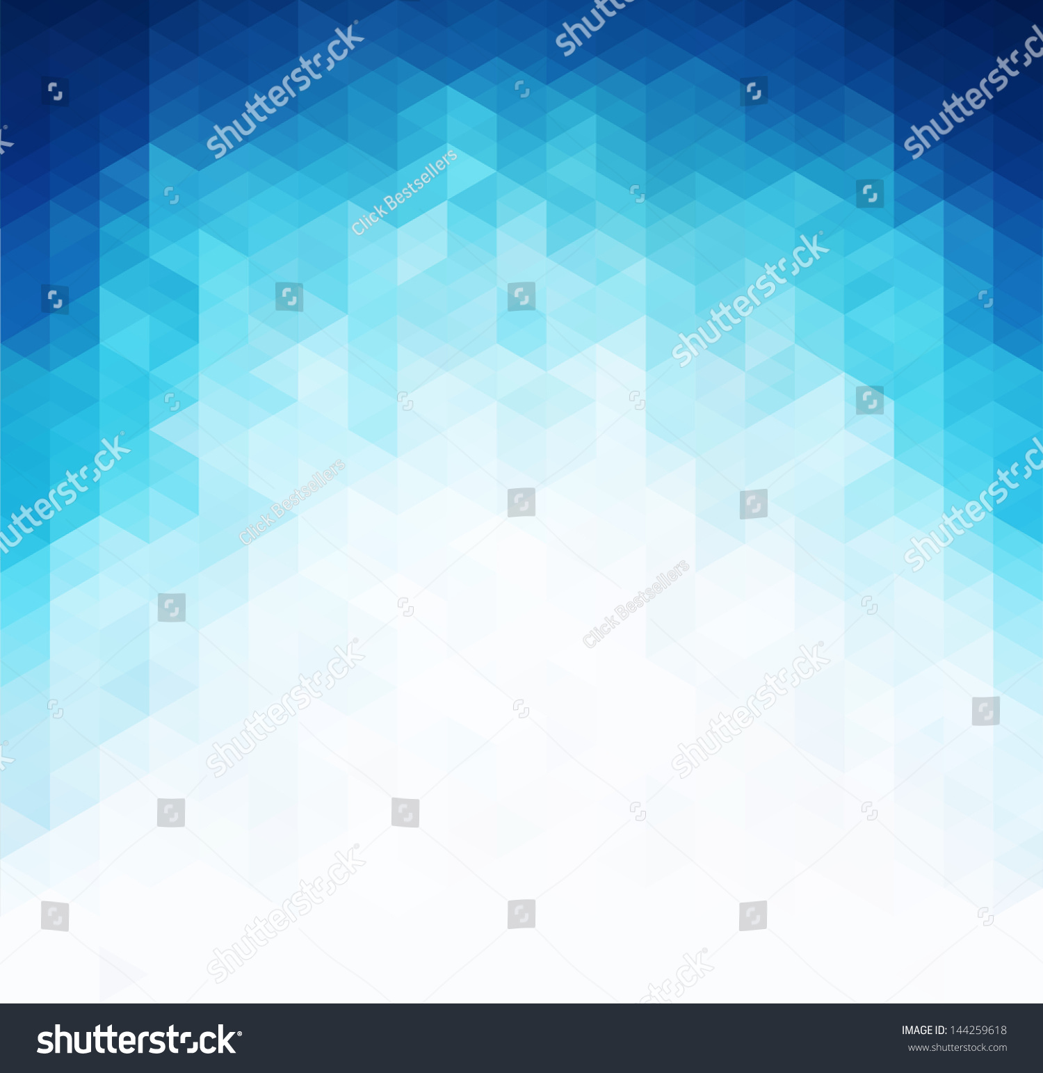 Abstract Blue Light Template Background Stock Vector