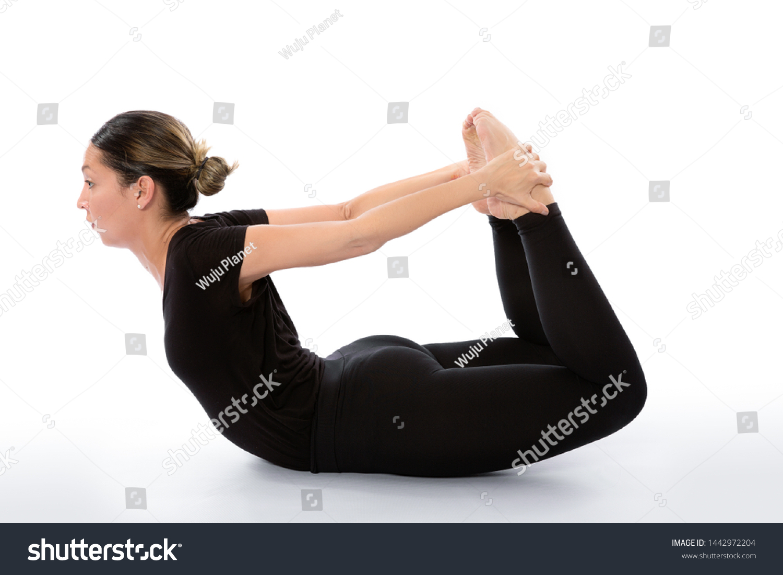 Dhanurasana Yoga Pose Bow Pose Yoga Stock Photo (Edit Now) 38