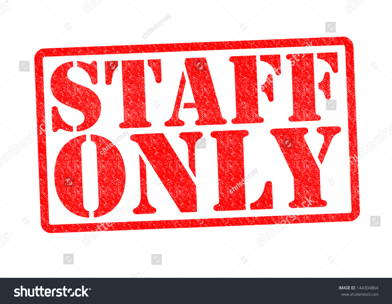 staff only rubber stamp over white stock illustration 144304864