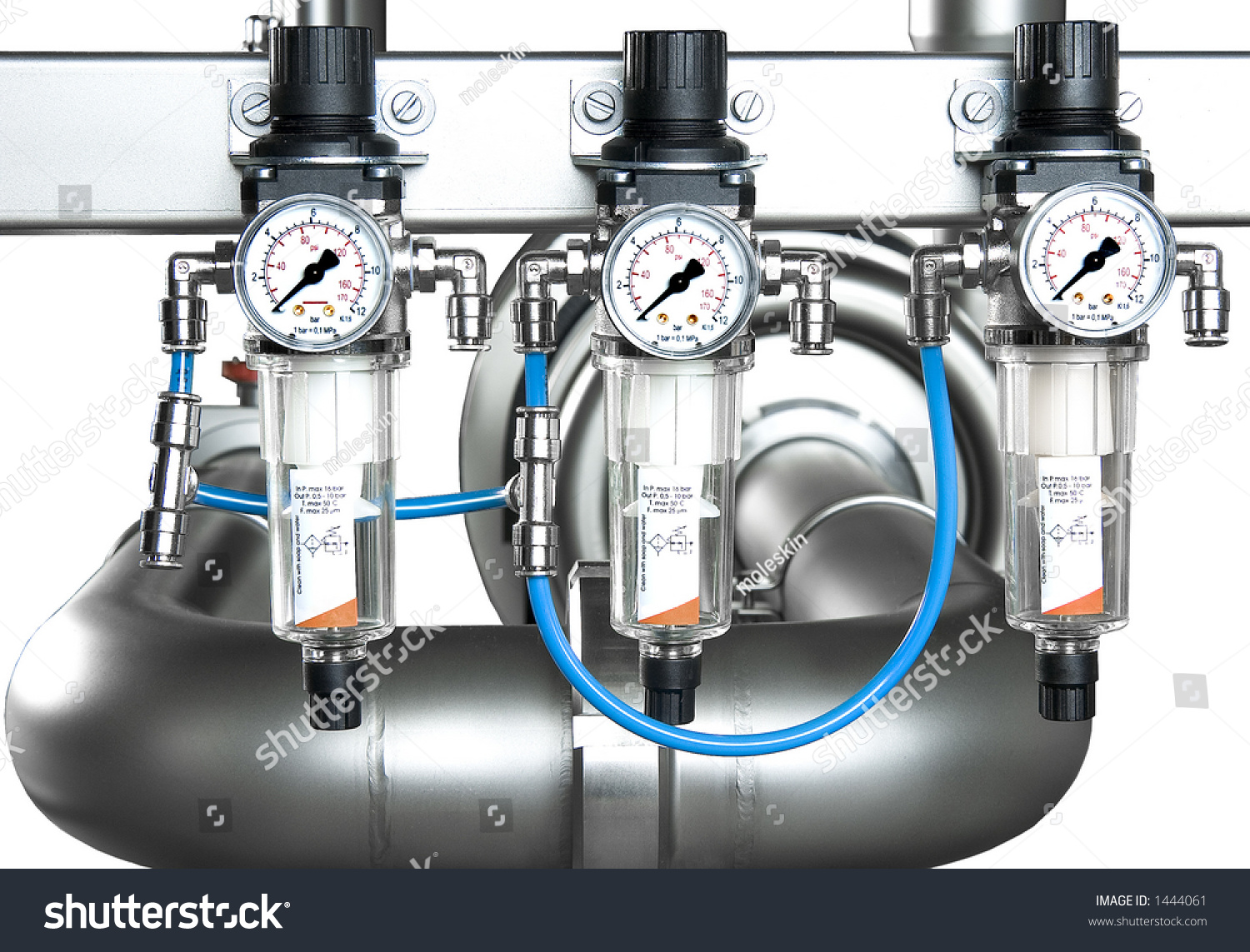 Manometer Pipe Precision Pressuregauge Stock Photo 1444061 ...