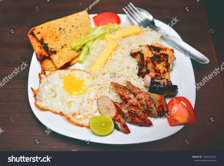 Chelo Kebab Park Street Kolkata Stock Photo Edit Now