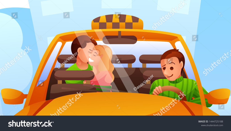 Taxi Driver Confused Oops Cabbie Perplexed Stock-Vektorgrafik (Lizenzfrei)  1420676792