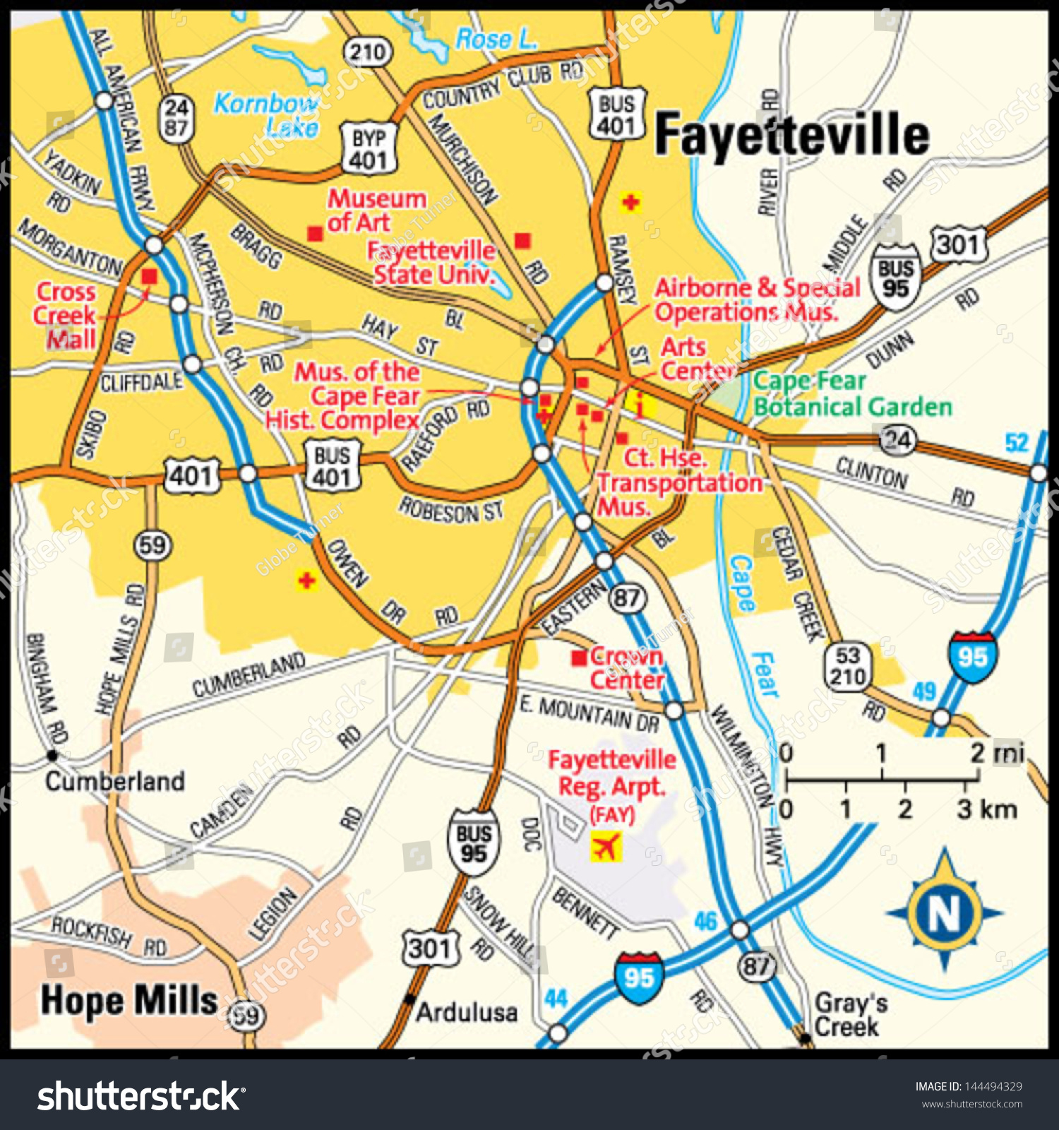 Popular 259 list cape fear nc map for Fishing in fayetteville nc