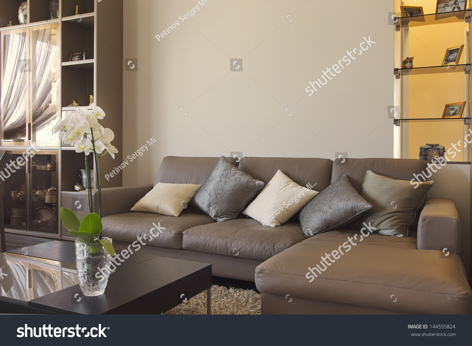 comfortable big living room living. Big And Comfortable Living Room With Sofa In Luxury Mansion H