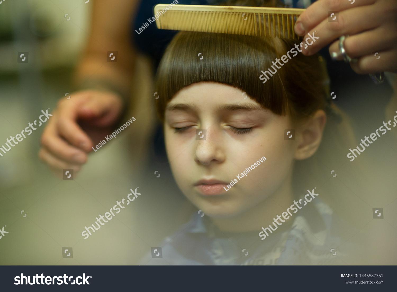 Peachy Hairdresser Making Hair Style Cute Little Royalty Free Stock Image Schematic Wiring Diagrams Amerangerunnerswayorg