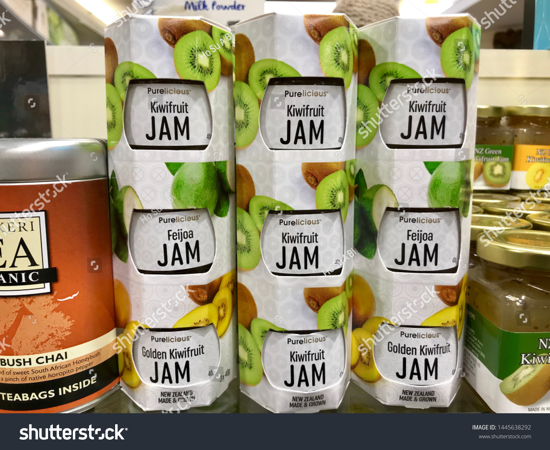 Newzealand1may 19 Kiwifruit Jam Gold Green Stock Photo Edit Now 1445638292