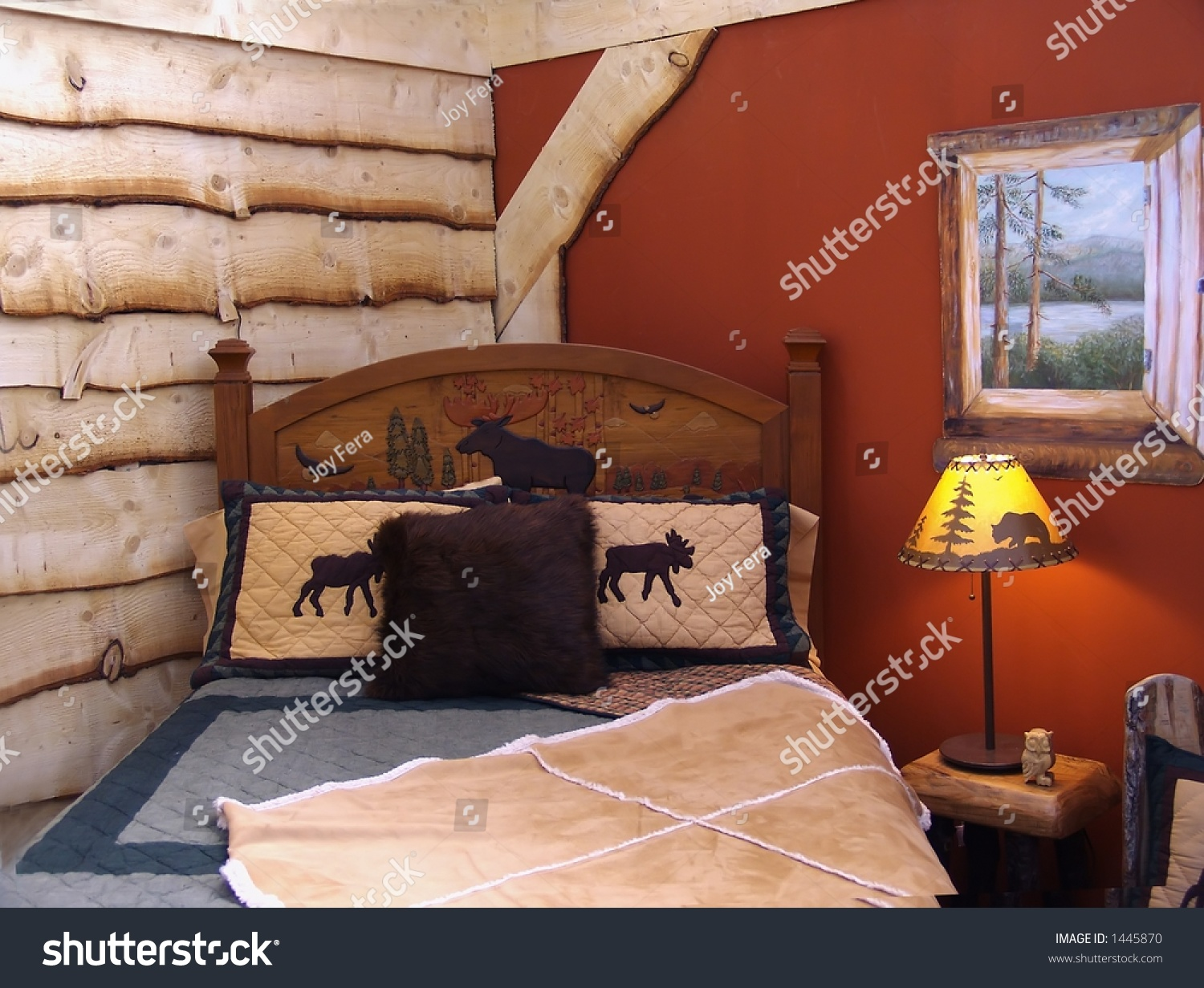 Country Style Bedroom Stock Shutterstock