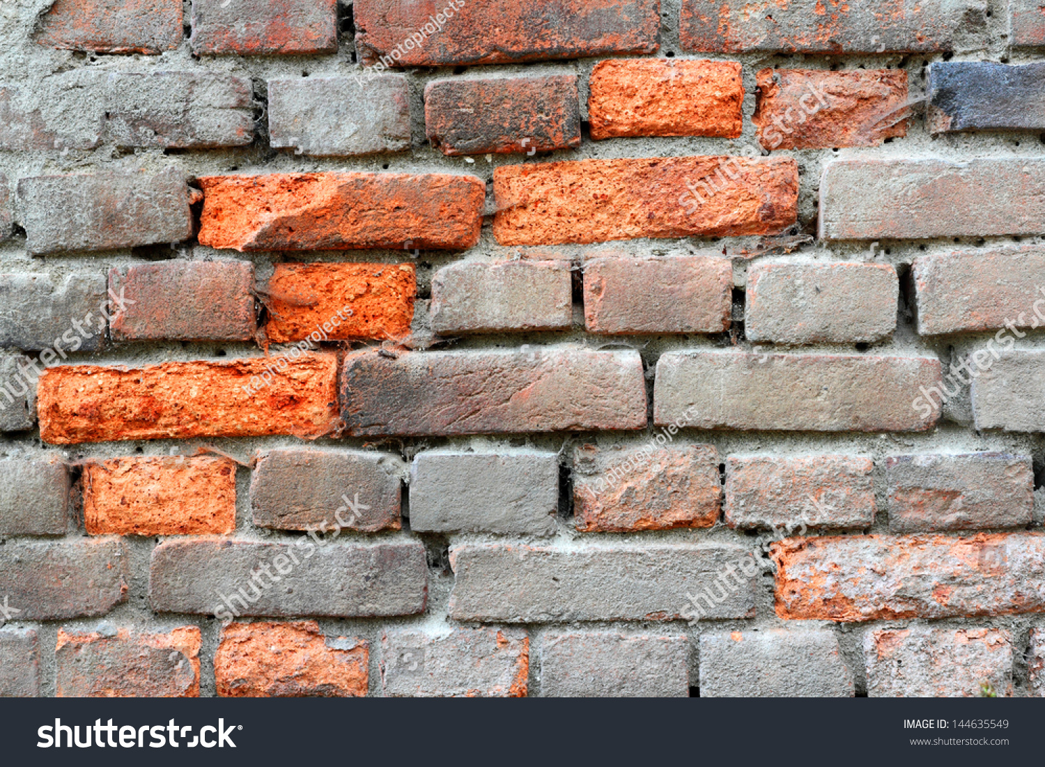 Fire Resistant Brick : Brick durable solid material having high stock photo
