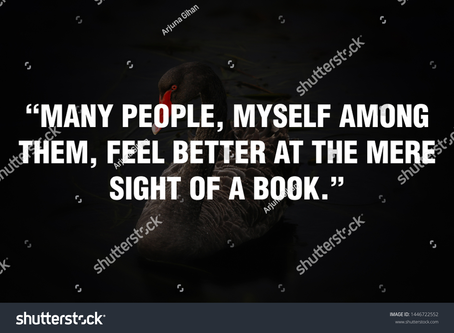 Motivational Quotes Design People Myself Among Stock Photo ...