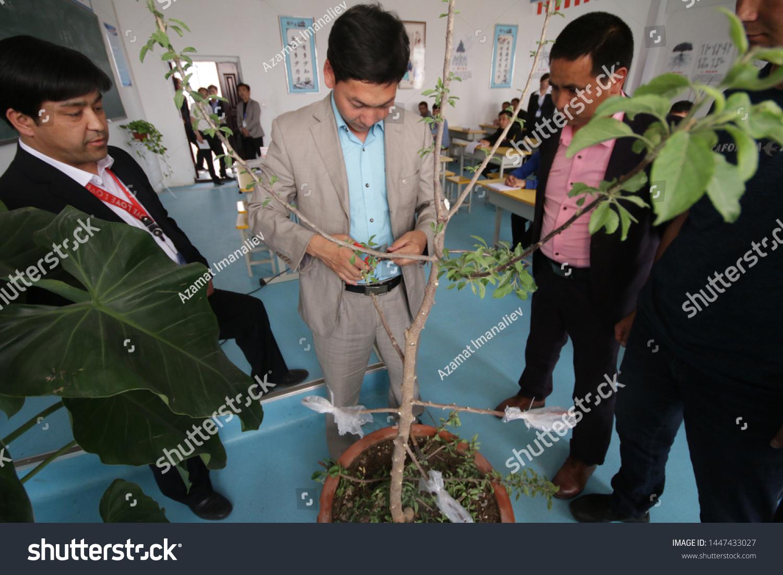 Aksu China April 24 2019 Uighurs Stock Photo Edit Now 1447433027